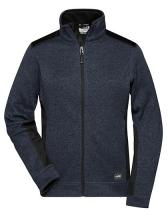 Ladies´ Knitted Workwear Fleece Jacket -STRONG-